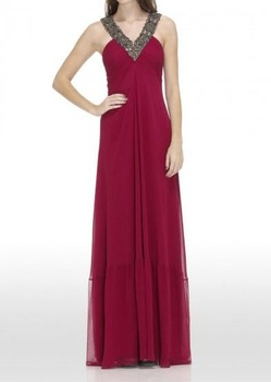 Free shipping new style evening dress/ sexy halter party dress/ evening gown / prom dress