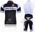 Free shipping 2011 CASTELLI team cycling jersey+bib shorts, Cheap bib shorts cycling /bike apparel/biking gear/biking wear