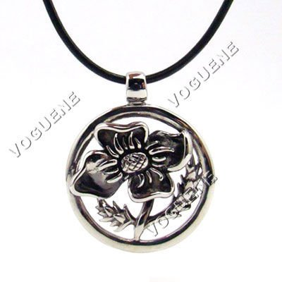 Guaranteed 100% brand new sunflower stainless steel fashion necklace+free shipping(China (Mainland))