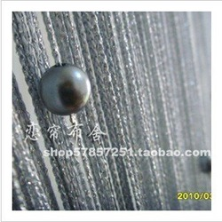 Wholesale and retail crystal bead string curtain , polyester string curtain,door curtain(China (Mainland))