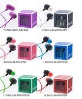 Box mini earphones(inner,mp3)10pcs/lot+Free Shipping