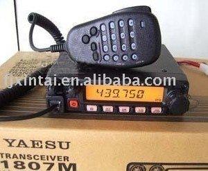 Express Free shipping (400-470MHZ) car radio transceiver  YEASU FT-1807