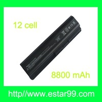 New 12Cell 8800 mAh  Battery for HP COMPAQ PRESARIO CQ42-252TU / Black & Free Shipping