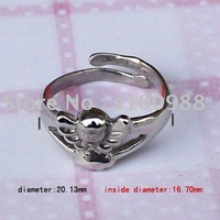 10PCS/Lot!Assorted Styles!Free Shipping!High Quality S.S316L Good Polished  Casting Stainless Steel Jewelry