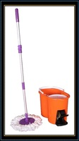 dehydration magic mop/hand+pedal pressure/2 mop head/gift box packing/100% new pp bucket/high quality/more durable