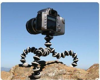 Flexible Ball Leg Photo Equipment Mini Tripod for Digital Camera and Camcorder