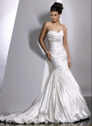k3818 Free shipping off shoulder sweetheart custom made bridal wedding dress.wedding grown(China (Mainland))