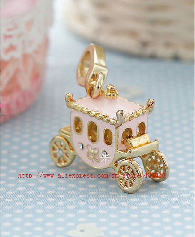Export to Overseas 10 Pcs/Lot Princess Carriage Pendant/cell phone straps /Mobile pendant /novelty gifts+ EMS Free Shipping(China (Mainland))