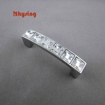 Modern crystal handle / locker handle / Home Hardware Free Shipping