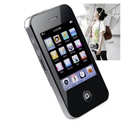 New 2.8&quot; 16GB Touch Screen I9 4G Style Mp3 Mp4 MP5 Player Camera Game Video FM Free Ship(China (Mainland))