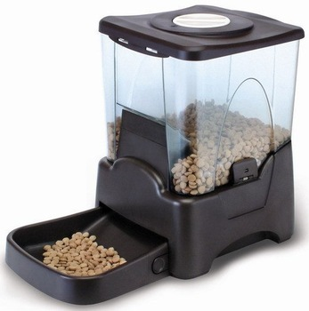 free shipping Automatic Pets feeders Pet supplies Microcomputer control Automatic pet feeding device