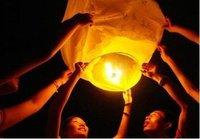 freeshipping color mix sky lantern, wishing lanterns,chinese lantern