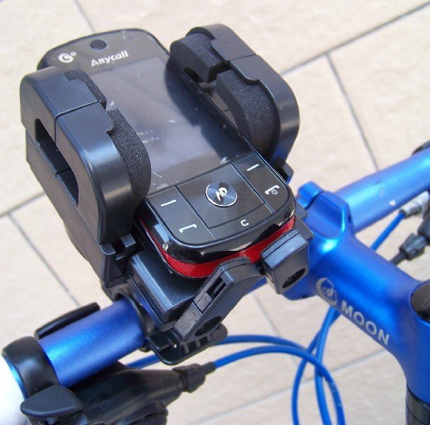 Bicycle Bike Mobile Phone GPS Holder With Swiveling Head and Mount Ring(China (Mainland))