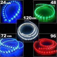 Very Cheap shipping ! 18months warranty ,24CM-Auto LED strip lighting-PVC led Strip light-waterproof LED Strip