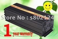 Factory sell 5000w dc 12v/24v pure sine wave  solar power inverter with 20A charger free shipping