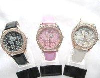 2011 hot selling/Fashion waist watches/hello kitty flowers surface dial Quartz Watches/children cartoon waist watches/3 color