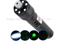 FREE shipping 200mw laser flashlight,LED torch,green laser pointer,lights matches easily,Waterproof