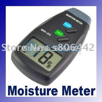 LCD digital Wood Moisture Meter Detecotr Tester 2-Pin  dropshipping