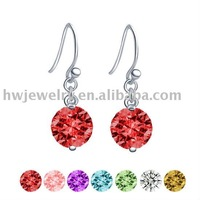 D1009 sterling silver earring