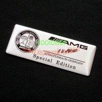 100pcs Aluminum Alloy 3D Badge Emblem AMG AFFALTERBACH for Benz sticker /body sticker