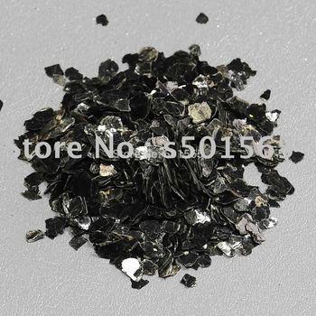 natural mineral deposit ,natural color mica,mica scrap,black color