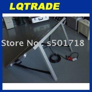 160 Watt folding solar panel with regulator wiring and legs