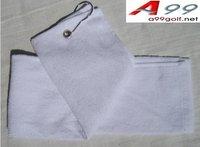 A99 golf towel white