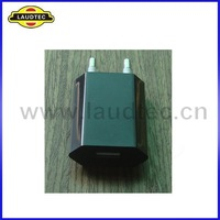 DHL Free Shipping 100pcs/lot Black Color EU Plug USB Travel Home Wall Charger AC Power Adapter for iPhone 3G 3GS 4 4G