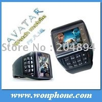 gsm unlocked ET-2 dual sim watch Phone with camera