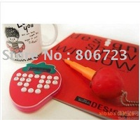 Wholesales Strawberry Shape Calculator 10pcs/lot + Free Shipping