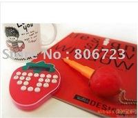 Wholesales Strawberry Shape Calculator 10pcs/lot + Free Shipping