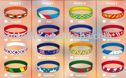 lovely silicone wristband(China (Mainland))