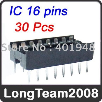 30x IC Integrated Circuit 16 Pin DIP IC Sockets Adaptor Brand new and free shipping