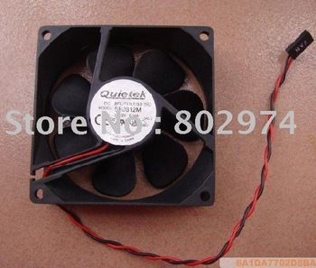 Quietek 8025 SB0812M 12V 0.14A DC Cooling Fan