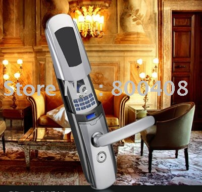 Newest Fingerprint Door Lock with IR remote control Function(China (Mainland))