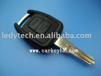 Good quality Opel 2 buttons remote key case with right blade