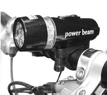 5/lot Waterproof LED Bike Bicycle Head Light Flashlight