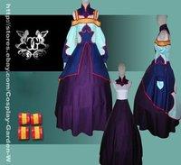 Freeshipping Hot Selling low price Cheap Cosplay Costume C1015 Code Geass TianZi Dress
