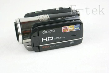 "Free shipping 1080P Digital Video Camcorder Camera DV/ Video camera 20*digital zoom/ 3.0"" TFT 12.0 MP DV"