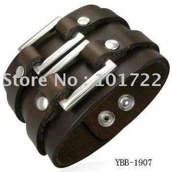 Ювелирные изделия Бесплатно SТазMENT.men авиакомпания, кожаный браслет, широкий браслет, ...