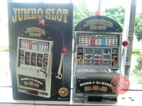 Hot sale,Reczone Slot Machine,Jumbo Slot ,Coin Bank,Game Machine,with light ,Jackpot and ring