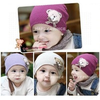 1pcs retail embroidered 100% cotton 2014 new Cubs baby hat children's hat can choose color