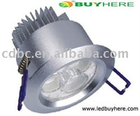 ON SALE LED Downlight --3W LED Downlight (BH-K1002) LED Light  Fixture material: Aluminium