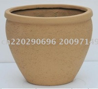 wholesale 19in garden ornaments/fiberglass planter supplier/wholesale garden planter
