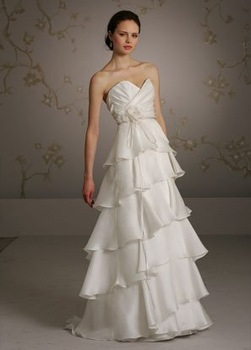2011 Free Shipping Designer Sweetheart A-line Satin Ruched Wedding Dresses XJWJ2-8059 ON SALE