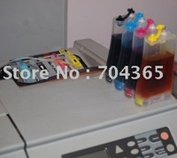 Free shipp  CISS ink system with Compatible cartridge (HP10 BK,HP82 C,M,Y )and chip  for HPdesignjet 800 plotter