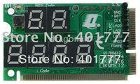 Wholesale 50 x  6 Bit Motherboard POST Diagnostic Card for MiniPCI-E+MiniPCI+LPC Bus, for Laptop Analyzer