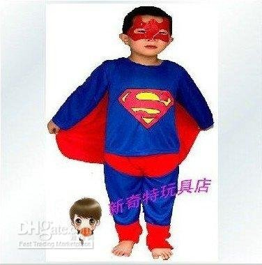 Spider Man Costume Baby Boy 5pcs/lot Halloween Costumes Performance Apparel Children(China (Mainland))