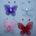 Free shipping Wedding Decoration 4cm 200pc Stocking Butterfly new wholesale /retail