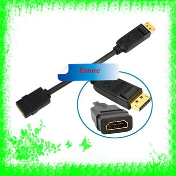 Free Shipping+10pcs/lot Displayport DP to HDMI Cable Adapter for Mac